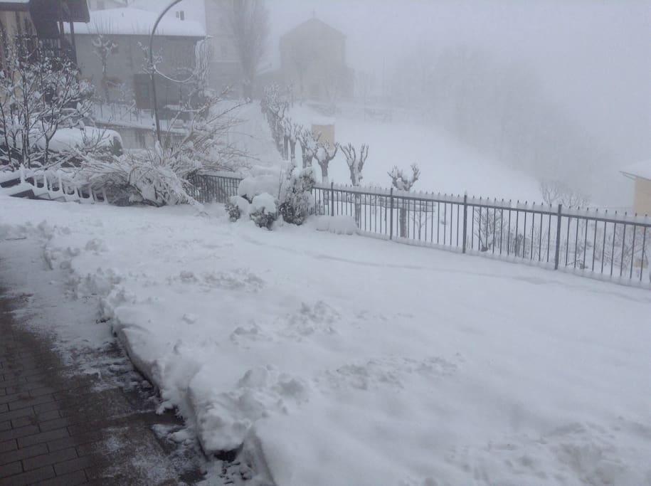 La neve di quest'anno
