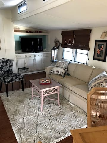 Living area include dining table