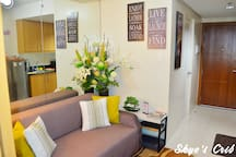 Our Cozy Living Area for you to chill and relax