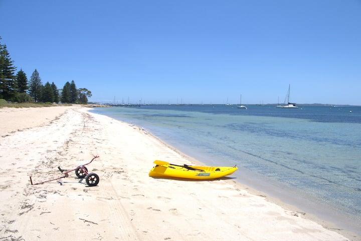 Palm Villa, right on the beach!