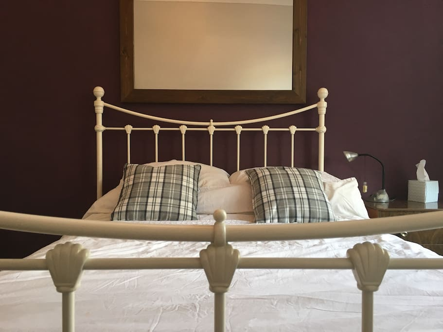 Lovely comfy double bed