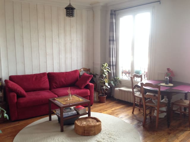 Welcome home! (Bright, Cozy, Parkside) - Les Lilas - Apartment