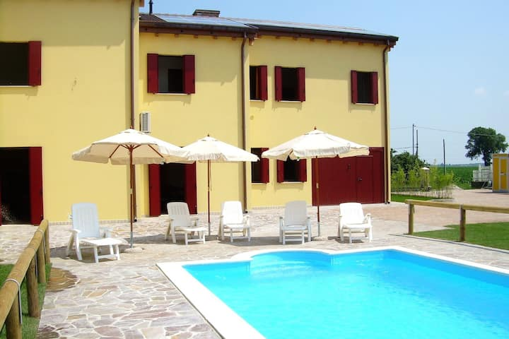 Comfortable holiday house close to Ariano nel Polesine