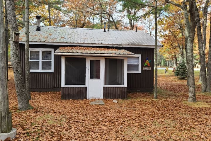 East Tawas City 3 Bedroom Rustic Cabin with Lake Huron Views