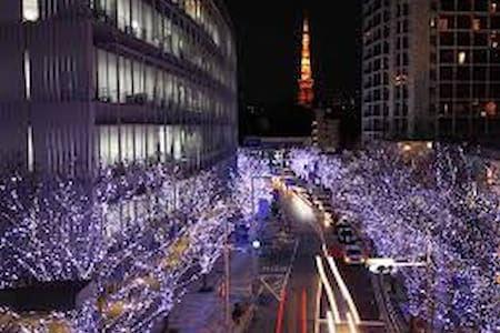 The Roppongi Tokyo room2 - Minato-ku - Gästehaus