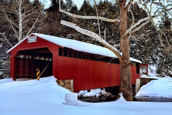 Little Gap Covered Bridge Home