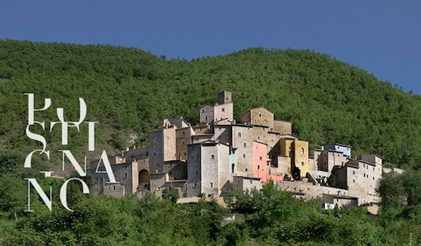 Escape, relax, & renew in an Umbrian Castle. - Sellano