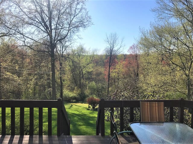 Private apt w/ full deck in beautiful Highland, NY
