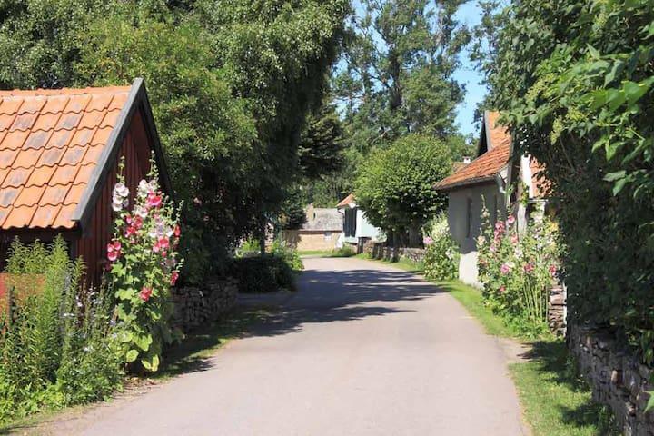 Charmig litet hus i Vickleby