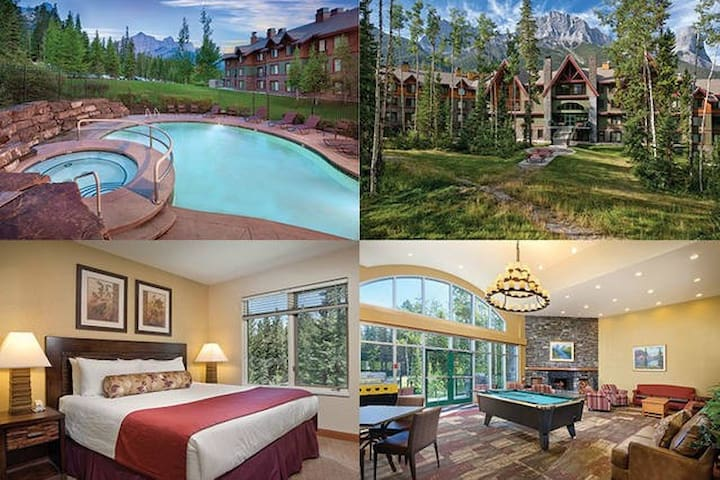 1 Bed Wyndham Banff, Canmore #3 - Canmore - Appartement