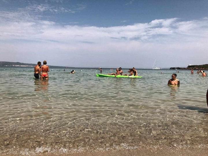 """Villa """"Spiaggia le Saline"""" 150 mt dal mare 8 pl"""