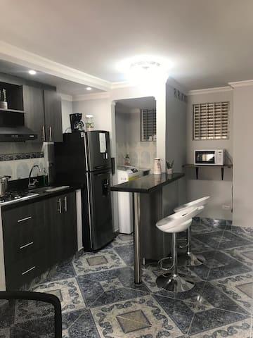 Apartamento Comfortable en el Centro de Medellín