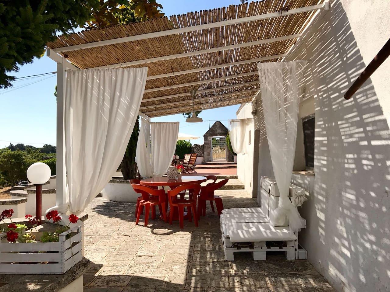 Esterno Casa Di Campagna trulli dell'800 martina franca - trulli (italy) for rent in