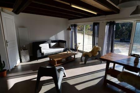 Maison loft au calme idéale entre lac et montagne - Bourdeau