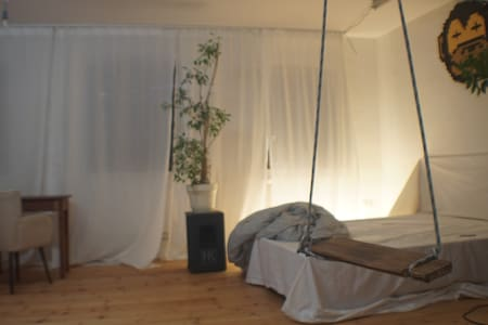 Playground / Studio  (54 m2, top location, quiet) - Hamburg - Loft