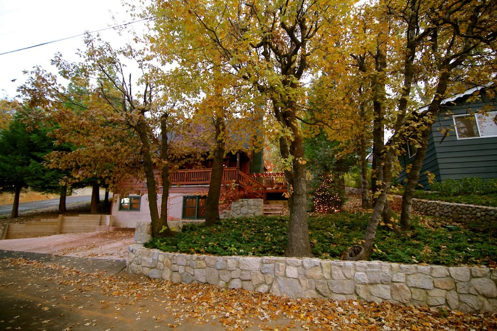 Palisades lodge walk to the lake cabins for rent in for Cabins in lake arrowhead ca