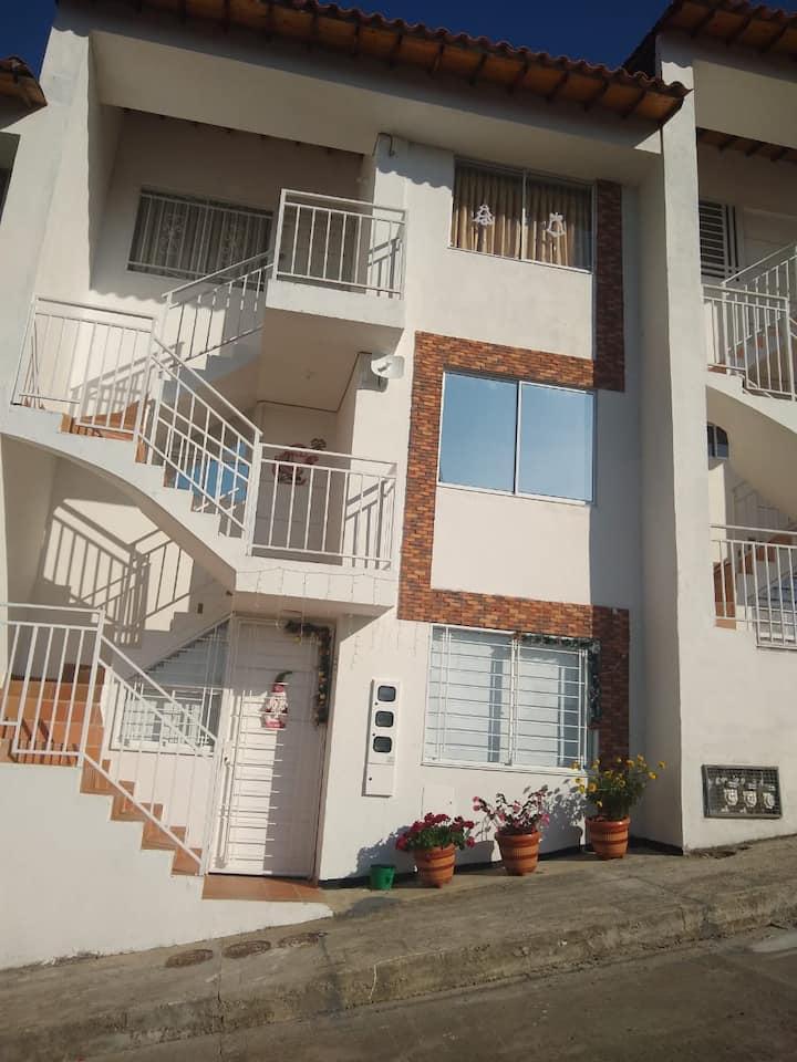 Apartamento nuevo familiar Curití Vista panorámica