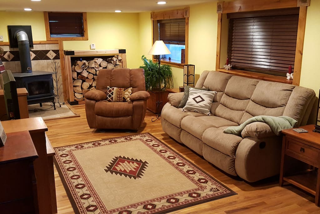 your private living room
