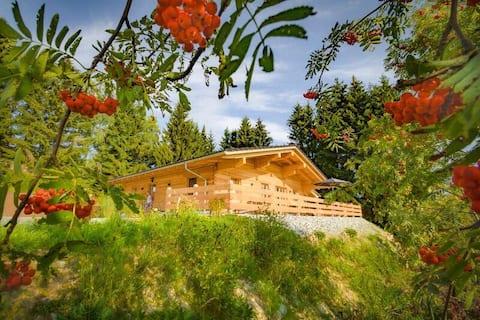 Neues 5 Sterne Wohlfühl-Chalet im Bayerischen Wald