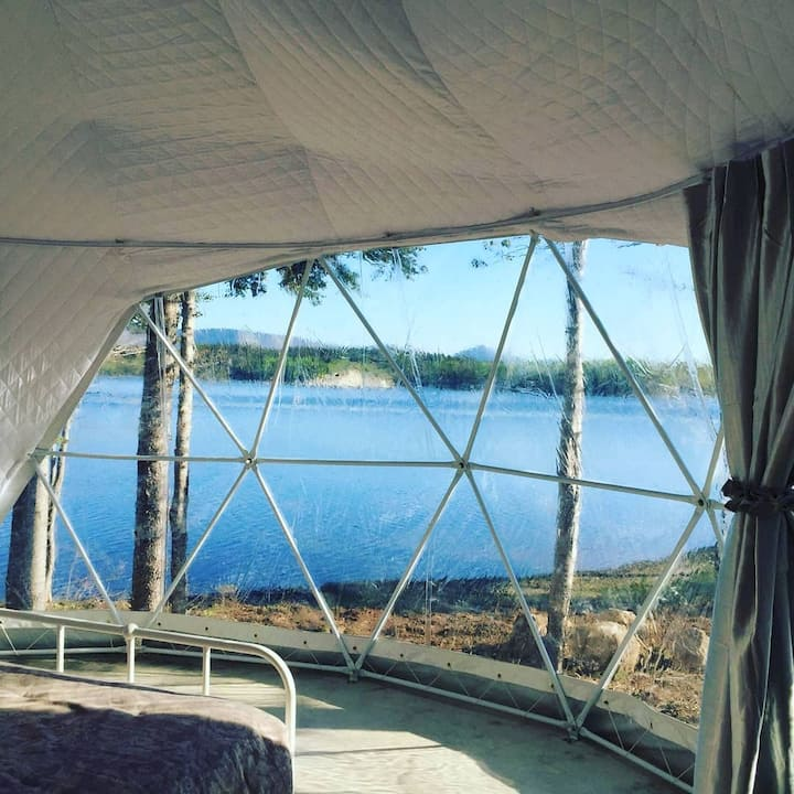 South Harbour Geo dome waterfront King suite