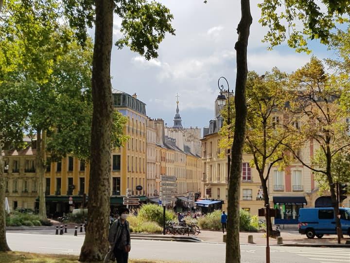 Studio au coeur du vieux versailles凡尔赛旧城中心
