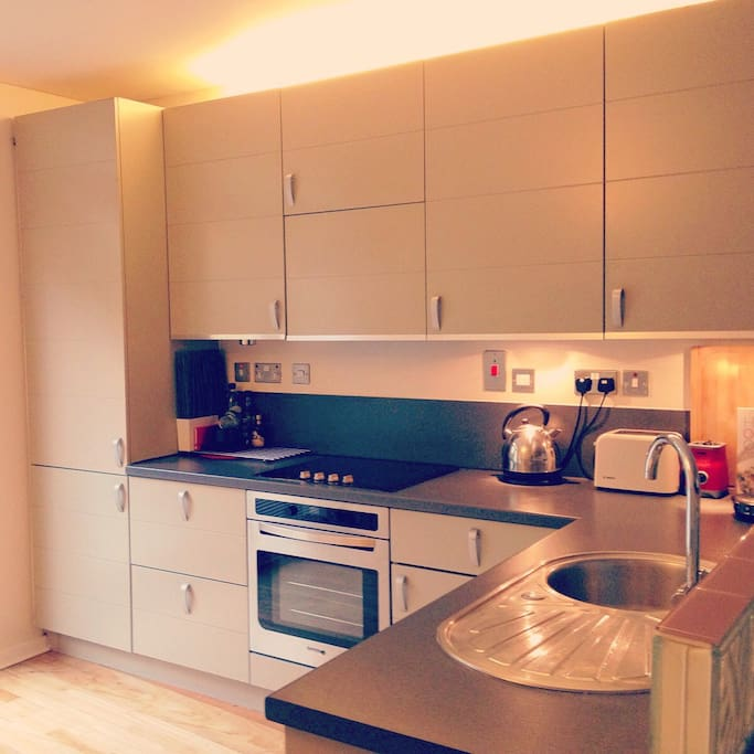 Open Plan Kitchen with all amenities at your disposal
