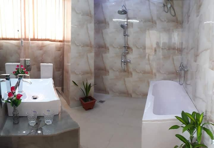 One Room of Luxury Condominium + Kitchen, Living.