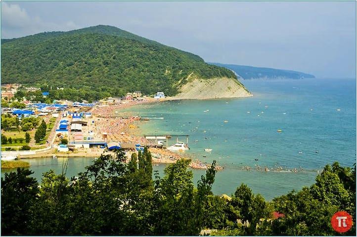 Отдых на берегу Черного моря (1) - Arkhipo-Osipovka - บ้านพักตากอากาศ