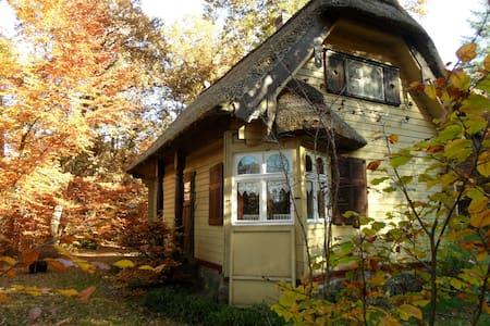 Reet gedecktes Holzhäuschen - Casa