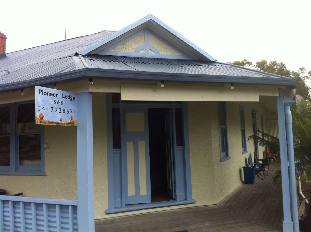 This is Pioneer Lodge 45 Main Rd Pioneer Tasmania
