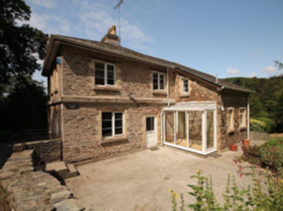 Clanacombe lodge 3 bedroom cottage near bantham houses for Kingsbridge house