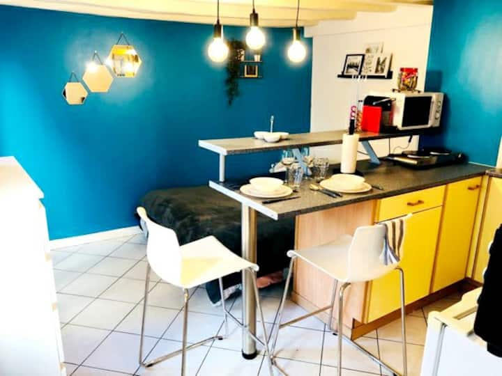 Beau studio de 18 m2