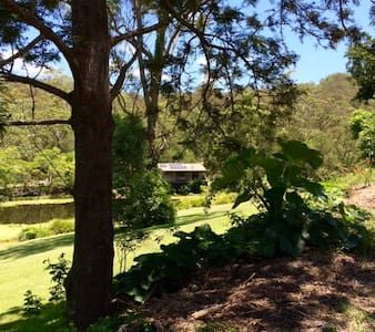 Peaceful country cottage on private dam - Mudgeeraba - เกสต์เฮาส์