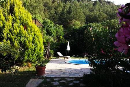 Villa Eden is a charming home with pool & garden - Kayaköy - Villa