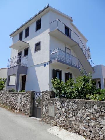 Two Bedroom Apartment, 250m from city center, in Razanj, Terrace