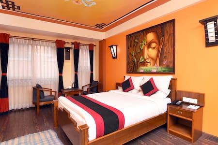Karma Boutique Hotel | Deluxe Double Room | Jyatha, Thamel Kathmandu