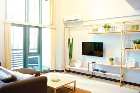 Modern 1BR Loft LeGrand 2 Eastwood Quezon City - Quezon
