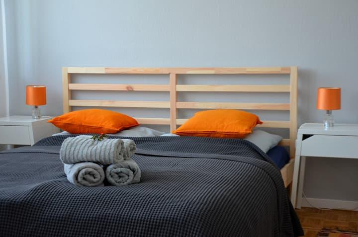 Ruhiges Appartement mit eigenem Garten nahe Bonn