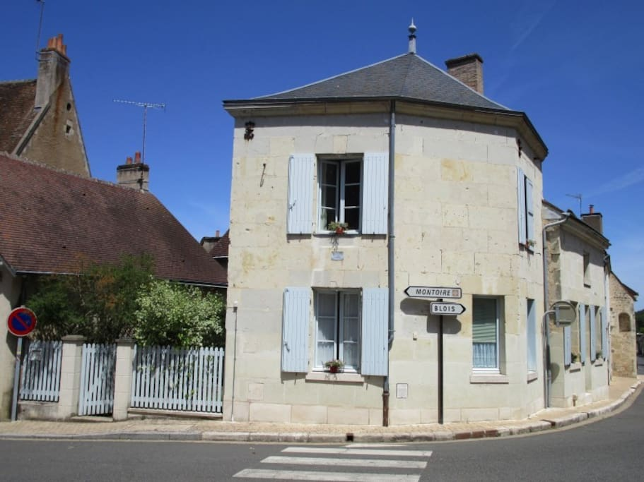 Your home sweet home away from home in one of the most beautiful villages in France