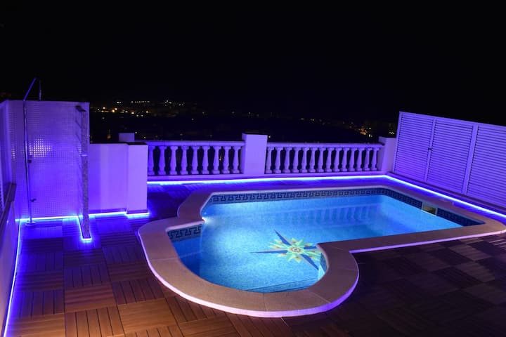 BEACH HOUSE, WITH PRÍVATE POOL AND AMAIZING VIEW!!