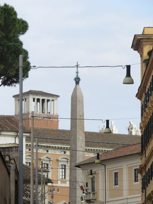 this is my street...it leads to S.Giovanni square