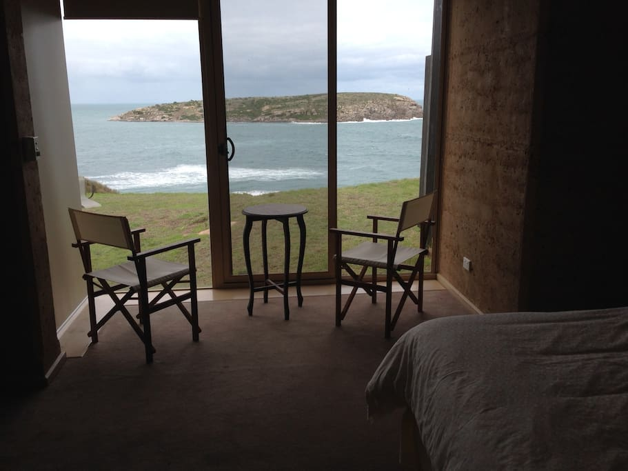 Bedroom view to West Island