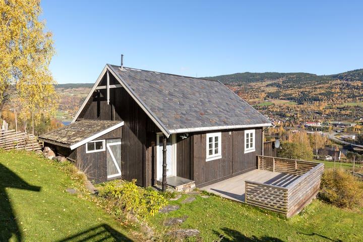 Øyer kommune, hjem med utsikt til Hafjell