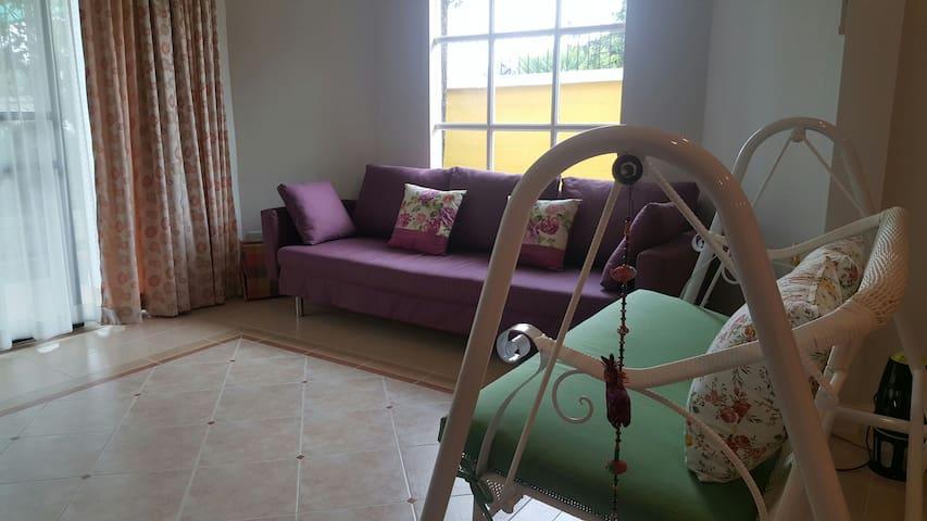 New cozy house feel like home SHARE ALL - Tambon Bang Khun Kong - Casa
