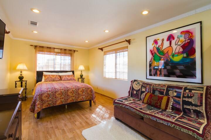 Master en-suite bedroom up stair - Westminster