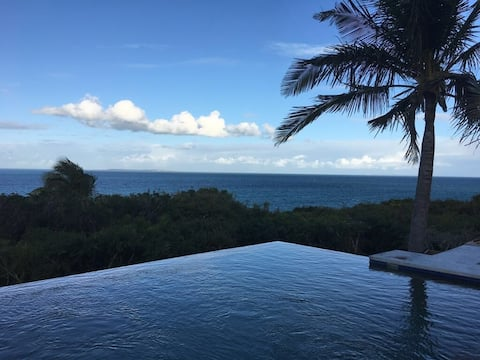 Casa Blu, vil·la amb vistes panoràmiques a l'mar