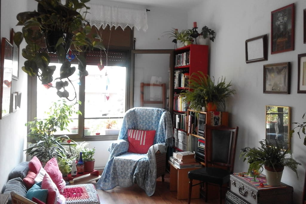 living room in 2017