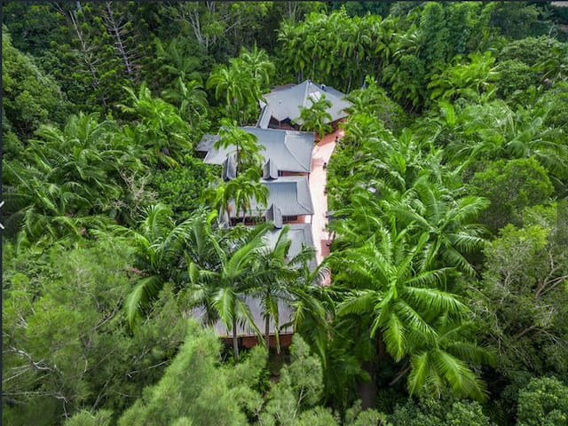 privacy in rainforest paradise