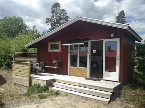 "Newly built guest house, ""Bergafjärden havsbad"""
