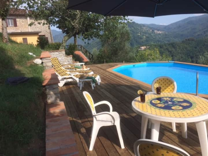 Tuscan Farmhouse Fabulous Views Private Pool